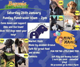 Begonia Garden Center Funday Fundraiser 26th Jan 2019